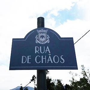 Auf der Strasse des Chaos